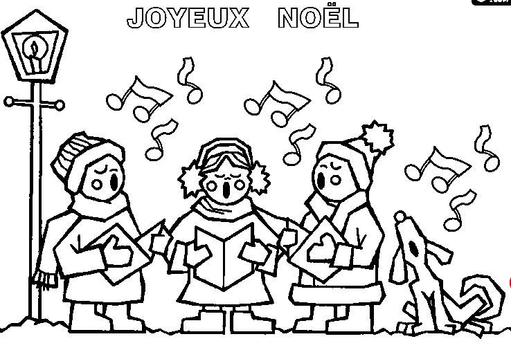 Marie-Helene Cussac Singing Carols